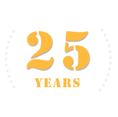 25 year celebration